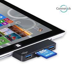 커네틱 USB3.0 허브 SD 마이크로SD CHU-02