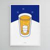 유니크 디자인 인테리어 포스터 M 소맥3 소주와맥주 A3(중형)