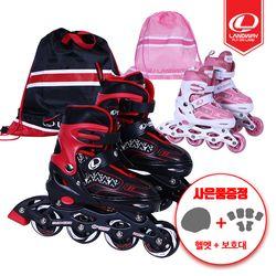 마운트2 아동용 인라인스케이트+가방 사이즈조절