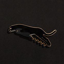 도이 사바나 코르크 와인 오프너 표범