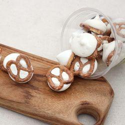 수제 머랭 쿠키 대용량 14oz 프레즐 인절미 자바칩
