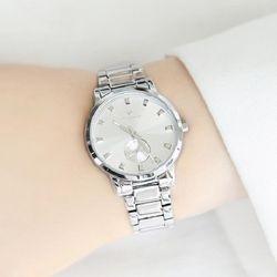 [Timepieces] 세련된 실버 여성용 커플 메탈시계 OTC219502FSS