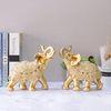 골드 코끼리장식품 E-G202 대 2P SET인테리어장식소품