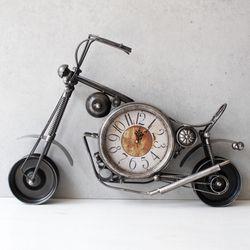 빈티지 오토바이 시계 (3703) - 3color