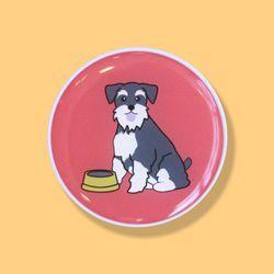 슈나우져 강아지 스마트톡 그립톡 거치대