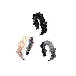 [오뜨르뒤몽드] flower line hairband(3colors)