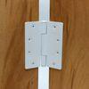 방문경첩 4035 3KNC 쓰리너클 화이트(90x102mm) 3너클경첩