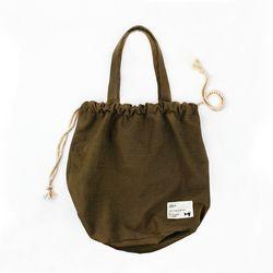 로프백 Rope Bag Cotton 100 ( 카키 )