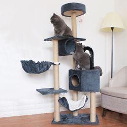 고양이 해먹 캣타워