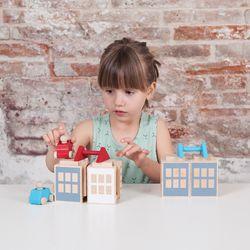 루부로나 루부타운 원목 블럭 쌓기 장난감 썸머