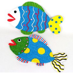NEMO [만들기패키지] 클레이물고기 2인용  여름만들기