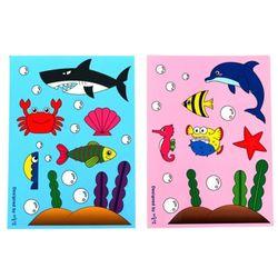 NEMO [만들기패키지] 바닷속 스티커 2개set (3개이상구매)