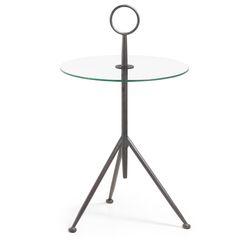 라란다 유리 사이드 테이블