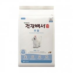 뉴트리나 건강백서 푸들 2kg(500g 4개)