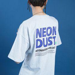 NEONDUST. 19SM T-SHIRT - Light Gray