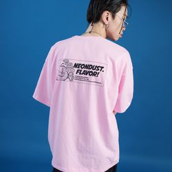 NEONDUST. DUSTY T-SHIRT - Pink