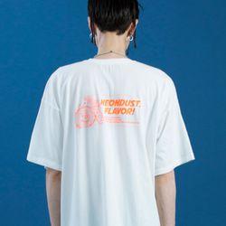 NEONDUST. DUSTY T-SHIRT - White
