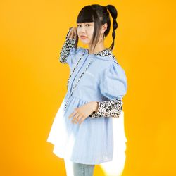 BABY DOLL SHIRT ONEPIECE - Check