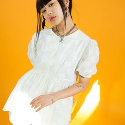 BABY DOLL SHIRT ONEPIECE - Heart