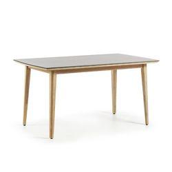클로이 수퍼스톤 원목 아웃도어 테이블 (1600)