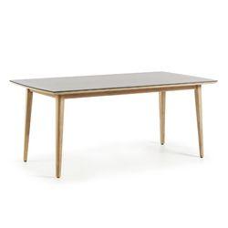 클로이 수퍼스톤 원목 아웃도어 테이블 (2000)
