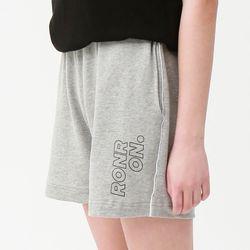 [무료배송] RONRON line half pants gray