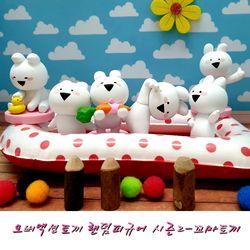오버액션토끼 랜덤피규어 시즌2  홀박스(6개)-꼬마토끼버전