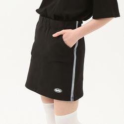 [무료배송] banding track sweat skirt