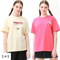 [1+1(선택가능)/무료배송] SET HOT SUMMER New T-shirts 3type