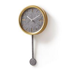 넥서스 펠트 인테리어 벽걸이 시계