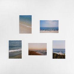 아름다운 우리나라 바다의 사계절 강릉 인테리어 엽서