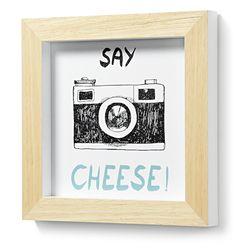 스페인 직수입 아르커 인테리어 원목 액자-치즈