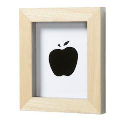 스페인 직수입 아르커 인테리어 원목 액자-애플
