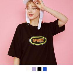 더블 써클 반팔 티셔츠