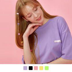 레인보우 반팔 티셔츠