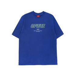 더블라인 반팔 티셔츠