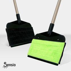 센시오 양면 빗자루 밀대 걸레 카페트 청소용품 SE8
