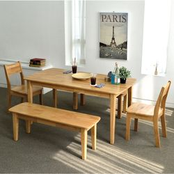 엘더 라운드 6인 테이블