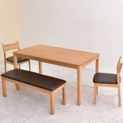 오크 심플 테이블 160