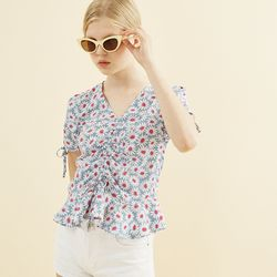 Daisy Shirring Blouse