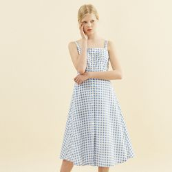 Annelle Dress Gingham Check