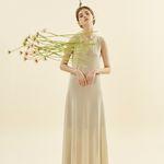Glitter Long Jersey Dress