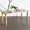 원목 식탁 일자 800x1800 6인용식탁 회의용테이블