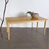 원목 식탁 일자사선 800x2000 6인용식탁 회의용테이블