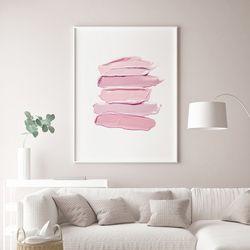 핑크라인 패션 그림 인테리어 액자 A3 포스터
