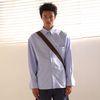 베이직 오버사이즈 셔츠 C418ST001-SKY BLUE