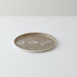 FOG LINEN 드로잉 트레이 3type- 키친 서클