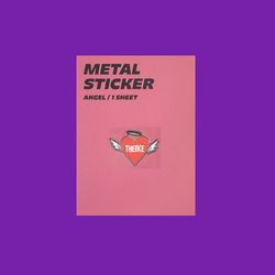 METAL STICKER ANGEL