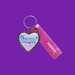 HEART STEEL KEY HOLDER ANGEL