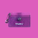 BUTTON CARD WALLET CP PURPLE